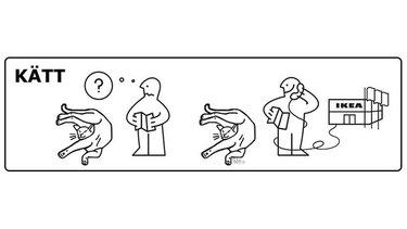 if cats had IKEA instruction manuals