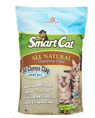 A bag of Pioneer Pet SmartCat All Natural Cat Litter
