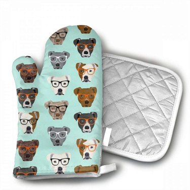 pit bull oven mitts