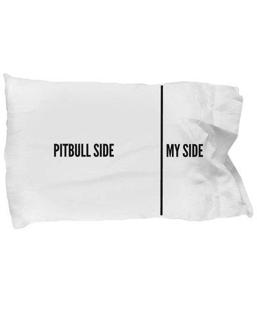 Pit bull pillow case