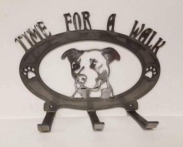 pitbull leash holder