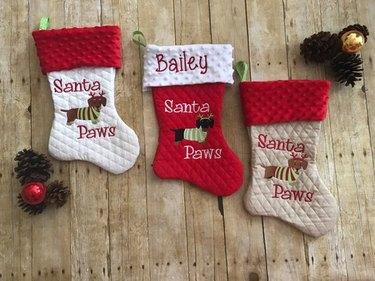 Tiny dog stocking