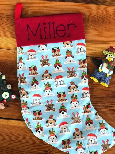 lots of dogs stocking