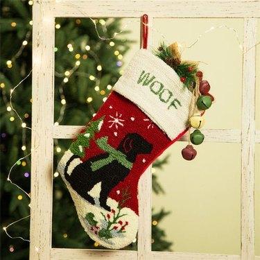 snow dog stocking