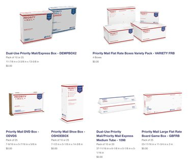 United States Postal Service boxes