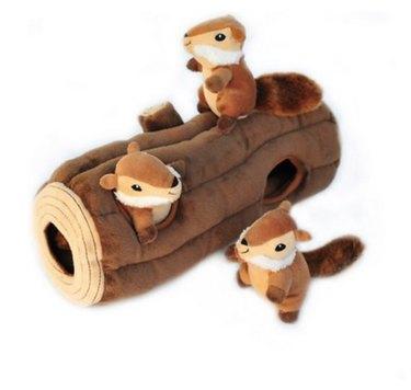Zippy Paws Squeaky Hide & Seek toy