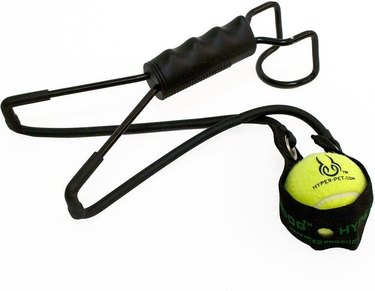 tennis ball slingshot fetch toy for dogs