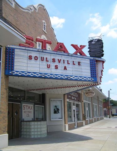 Stax Records building exterior