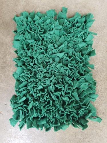 green snuffle mat