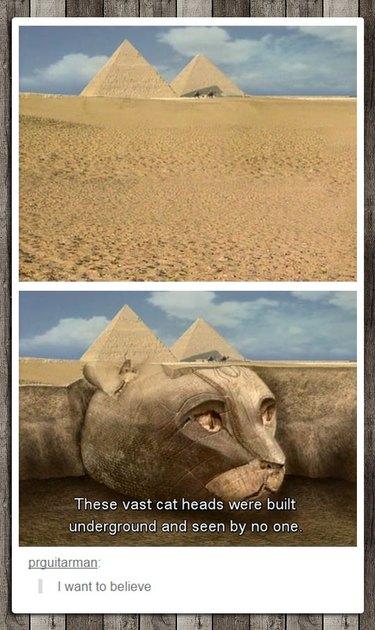 Pyramid meme