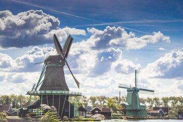 Windmühlen in Holland