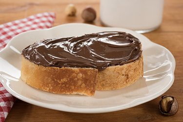 Chocolate Spread on Bread