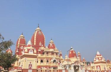 Laxminarayan Hindu Temple in Delhi, India.