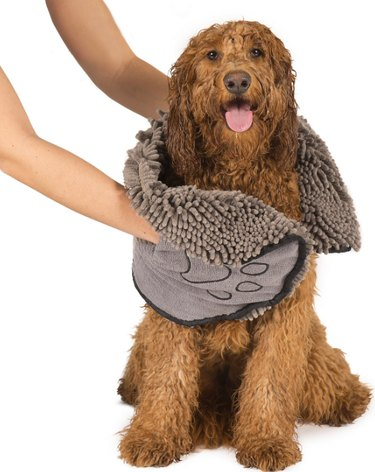 Dog Gone Smart Dirty Dog Shammy Towel