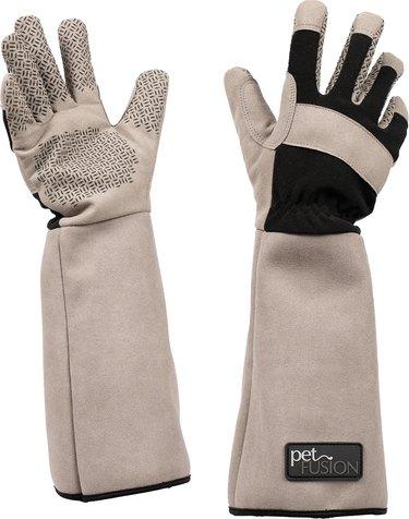 Shop PetFusion Multipurpose Five Finger Dog & Cat Grooming Gloves