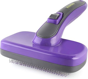 Shop Hertzko Self-Cleaning Dog Slicker Brushes
