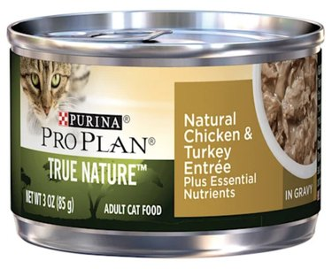 Purina Pro Plan True Nature Chicken & Turkey Adult Canned Cat Food
