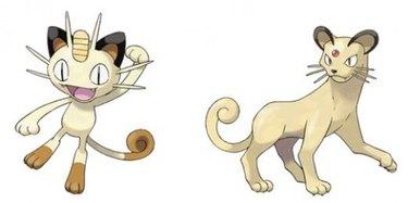 Meowth Pokemon cat