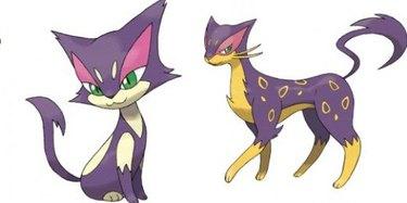 Purrloin / Liepard Pokemon Cats
