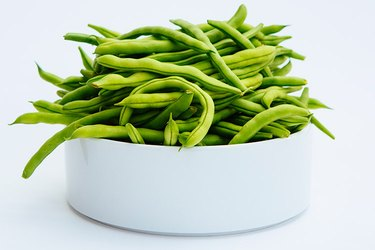 Photo of bowl of green beans