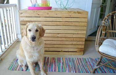 ...How To Make A DIY Wooden Dog Crate Cover