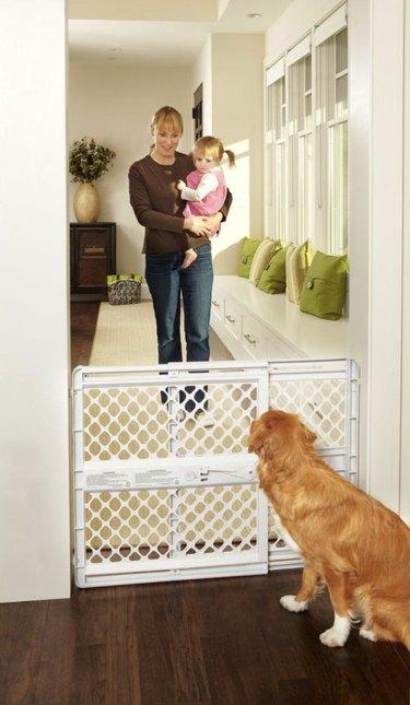plastic pet gate