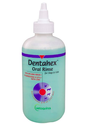 Vetoquinol Dentahex Pet Oral Hygiene Rinse
