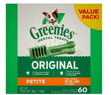 Greenies Original Petite Natural Dental Dog Treats