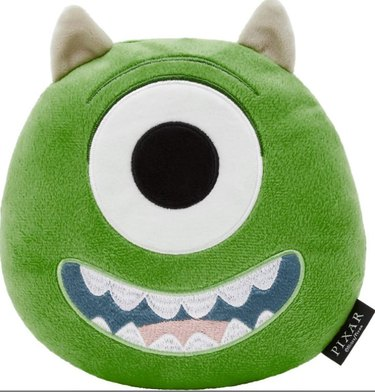 Pixar Mike Wazowski Round Plush Squeaky Dog Toy By Pixar