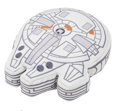 Star Wars Millennium Falcon Ballistic Nylon Plush Squeaky Dog Toy
