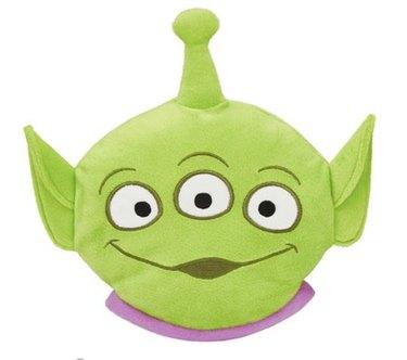 Pixar Aliens Round Plush Squeaky Dog Toy