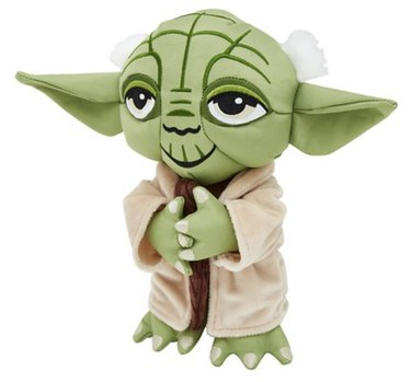 Star Wars Yoda Ballistic Nylon Plush Squeaky Dog Toy
