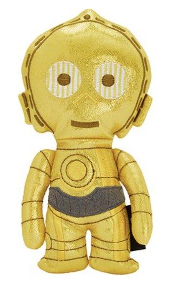 C-3PO Plush Kicker Cat Toy with Catnip