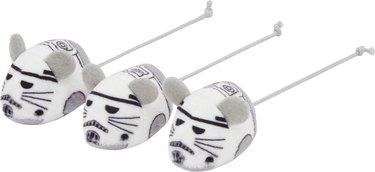 Star Wars Stormtroopers Plush Mice Cat Toy With Catnip