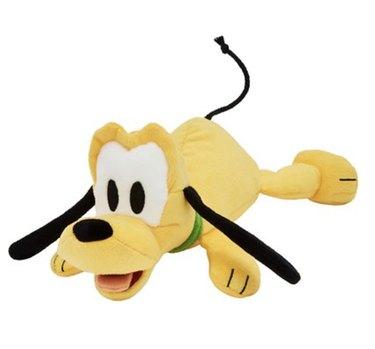 Disney Pluto Plush Squeaky Dog Toy, Medium