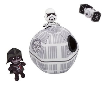 Star Wars Death Star Hide And Seek Puzzle Plush Squeaky Dog Toy