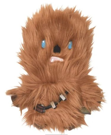 Fetch for Pets Star Wars Chewbacca Squeaky Plush Dog Toy