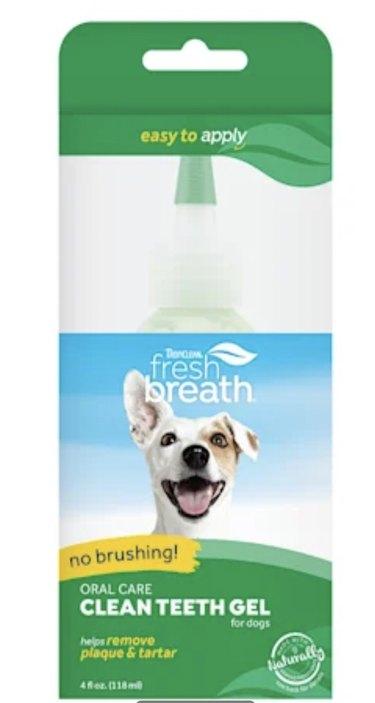 TropiClean's Fresh Breath Clean Teeth Gel