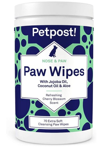 Petpost Nose & Paw Wipes