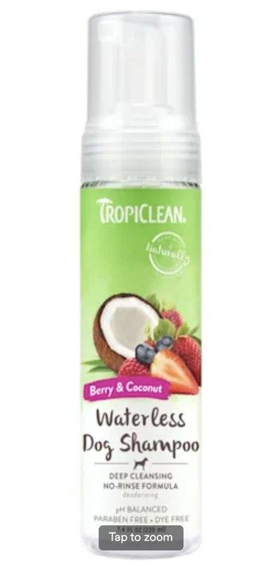 TropiClean Deep Cleansing Waterless Shampoo