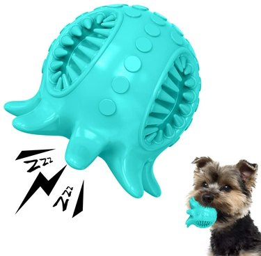 Dog Toy Ball Tooth Cleaning Octopus Shape Jolly Ball