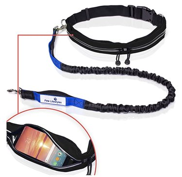 The Paw Lifestyle Retractable Waist Leash