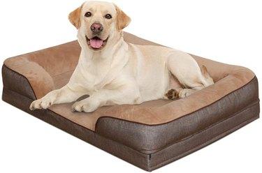 Heeyoo Waterproof Orthopedic Dog Bed, Large Memory Foam Pet Bed