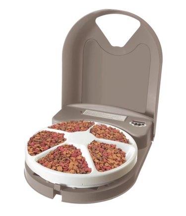 PetSafe 5 Meal Pet Feeder - Cat and Dog Feeder