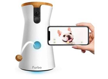 Furbo Dog Camera: Treat Tossing, Full HD Wifi Pet Camera, Compatible with Alexa (As Seen On Ellen)