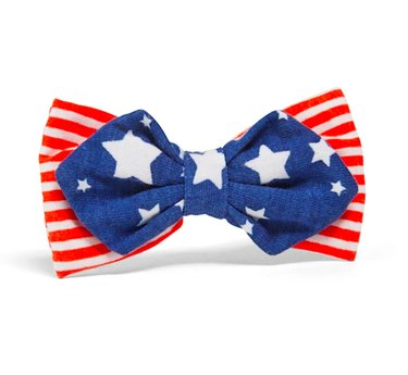 YOULY The Citizen Americana Collection USA Star & Striped Pet Bowtie
