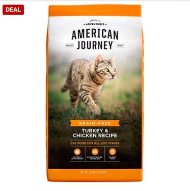 American Journey Turkey & Chicken Recipe Grain-Free Dry Cat Food
