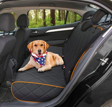 Active Pets Bench Dog Car Seat Cover for Back Seat
