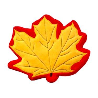 PrideBites Fall Leaf Durable Dog Toy
