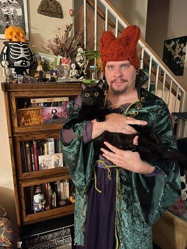 black cat seeks eternal life